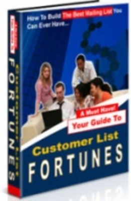 Product picture Customer List Fortunes - Get Paying Customers